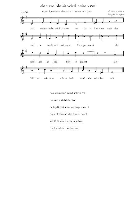 Lieder Saitenspiel Tronjes Blog Hermann Claudius Das