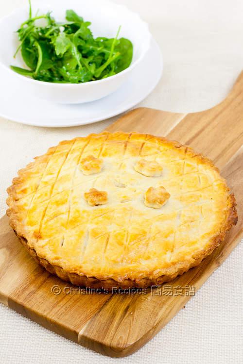 Mushroom Chicken Pie01