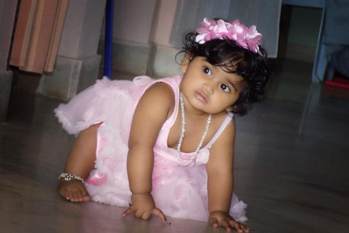 Cute Smile Baby Girl Pictures India Nainika Raj Nainika Raj