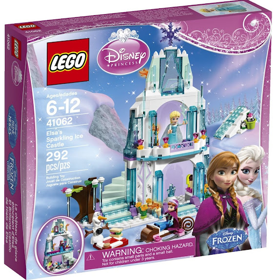 Anyone who loves Disney's Frozen and Lego, will love working one of these fabulous building sets.
