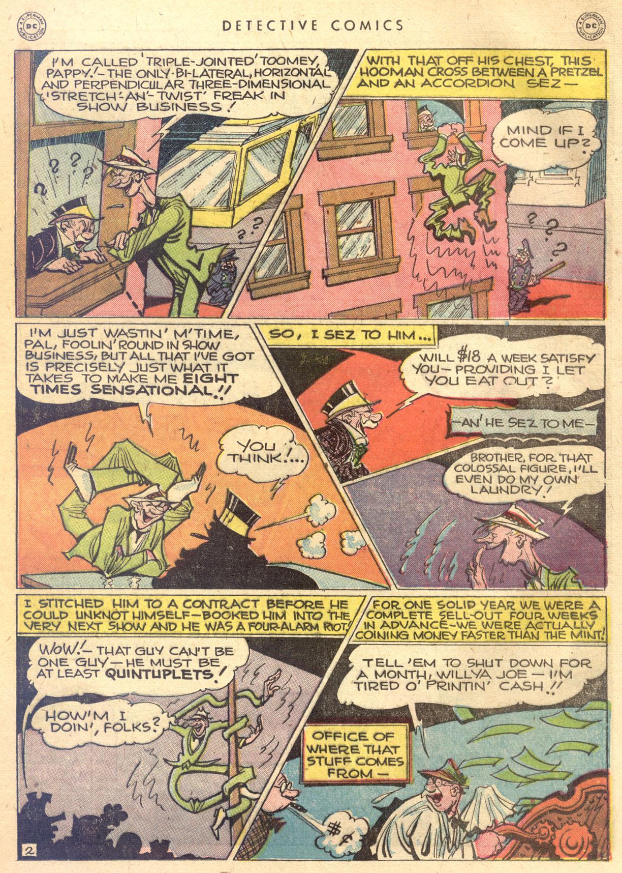 Read online Detective Comics (1937) comic -  Issue #134 - 31