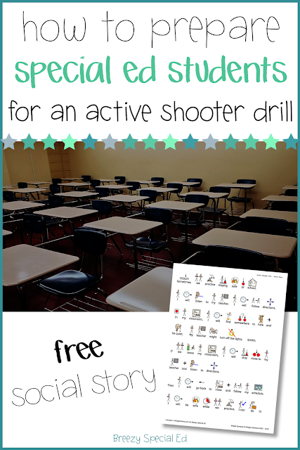 How to prepare special education students for an active shooter or lockdown drill