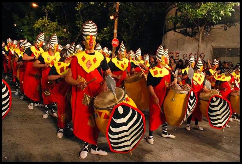 Carnaval. Desfile de Llamadas. Afrokán. 2010.