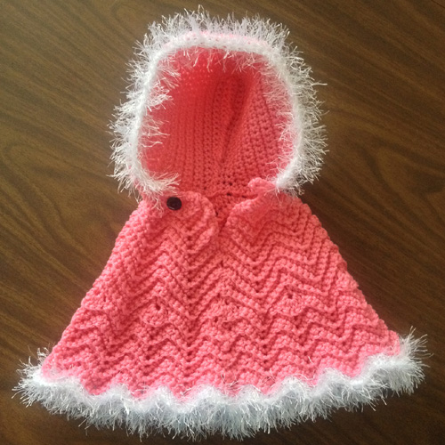 Baby Style Poncho - Free Pattern
