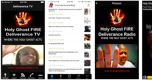 Holy Ghost FIRE - FREE Apps