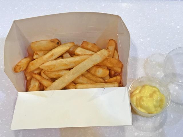 美國脆薯蜂蜜芥茉醬