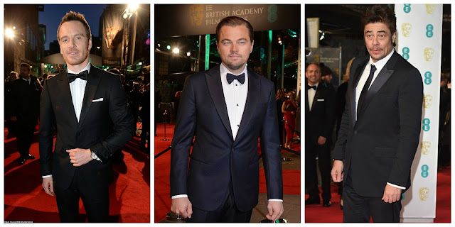 ALFOMBRA ROJA BAFTA 2016