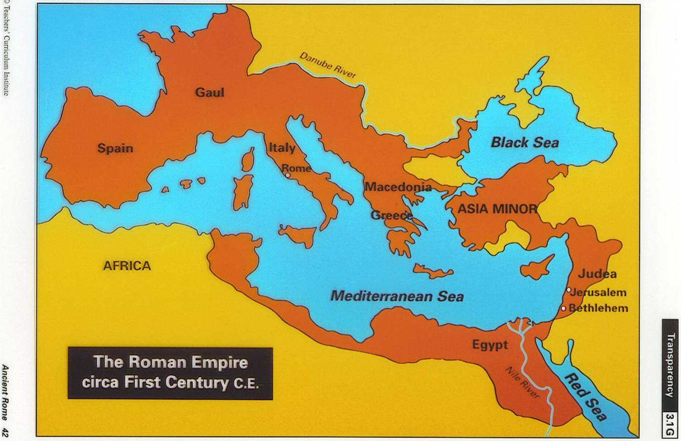 start associated with the roman empire