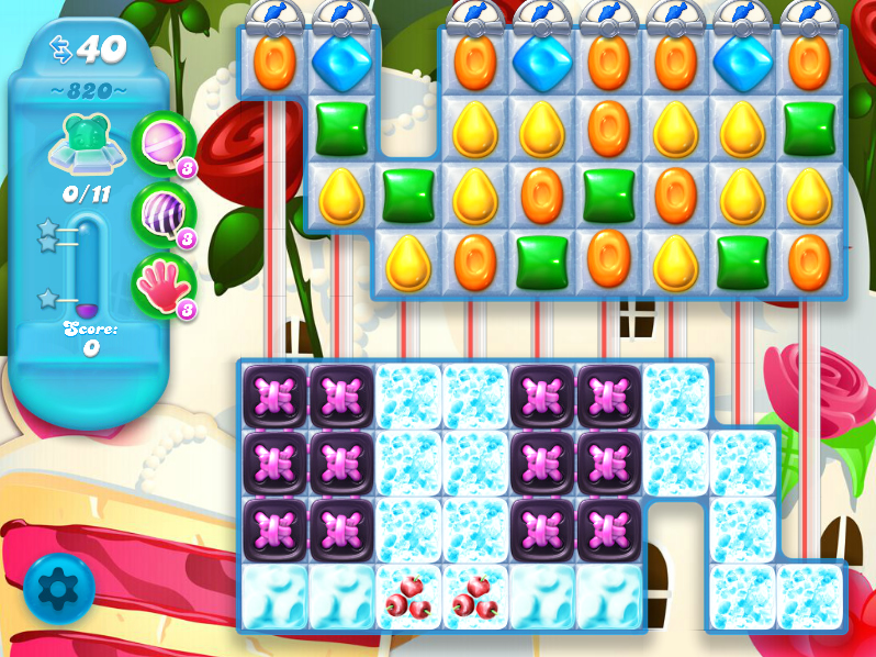 Candy Crush Soda saga Saga 820