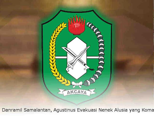 Danramil Samalantan, Agustinus Evakuasi Nenek Alusia yang Koma