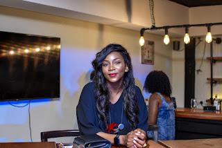 Photos of star actress Genevieve Nnaji at an event in Lagos last night