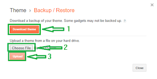 custom theme upload kaise karte hai