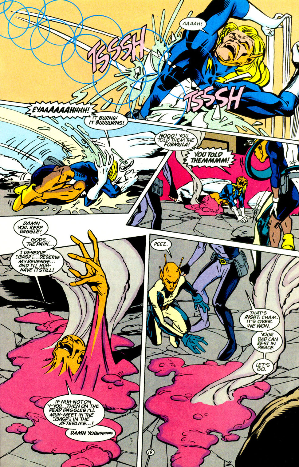Legion of Super-Heroes (1989) 69 Page 20