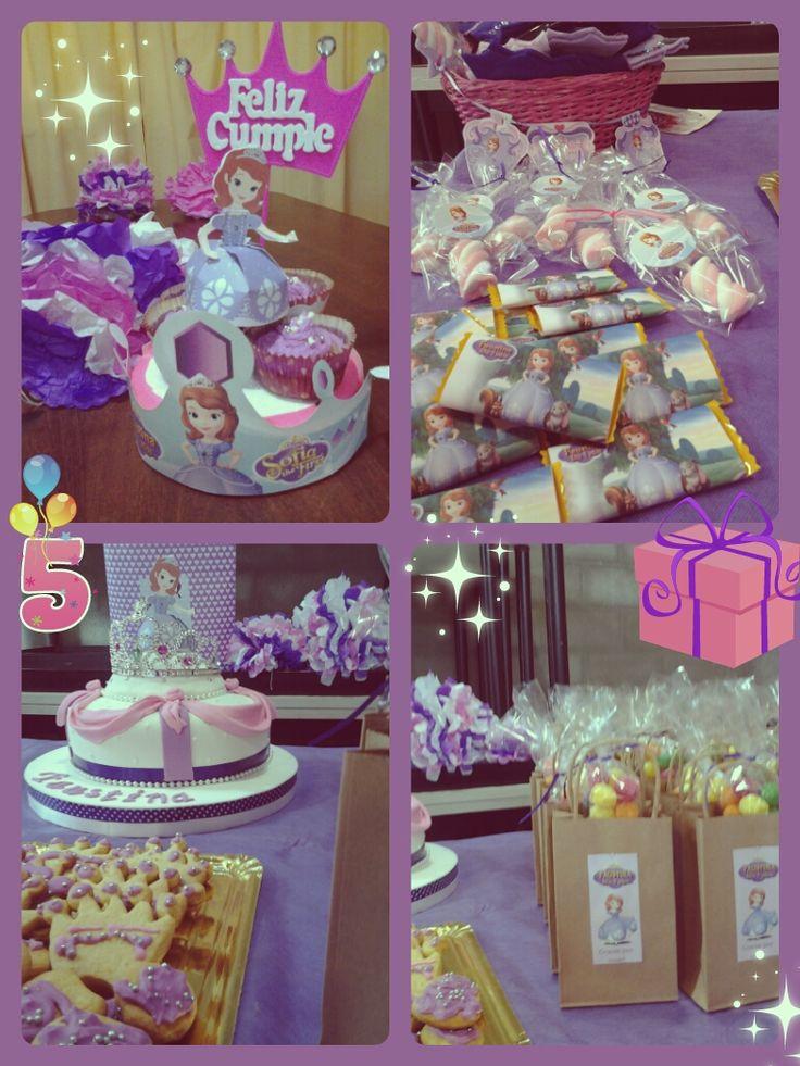 Manualidades decoraciones y mesa de dulces de princesita sofia - D casa decoracion ...