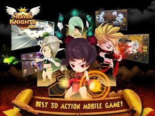 Gambar 1 : Heaven Knight Apk