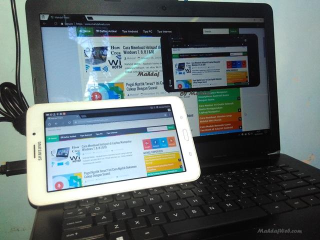 Cara Remote Android dari PC Dengan Mudah Mengendalikan android dari laptop