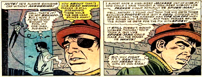 Amazing Spider-Man #46, John Romita, Patch is fooled by the dummy of Peter Parker as it swings away