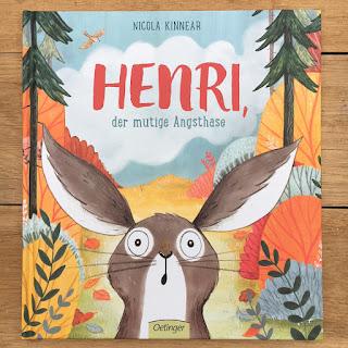 Bilderbuch Henri, der mutige Angsthase ab 4 Jahren Nicola Kinnear Oetinger Verlag