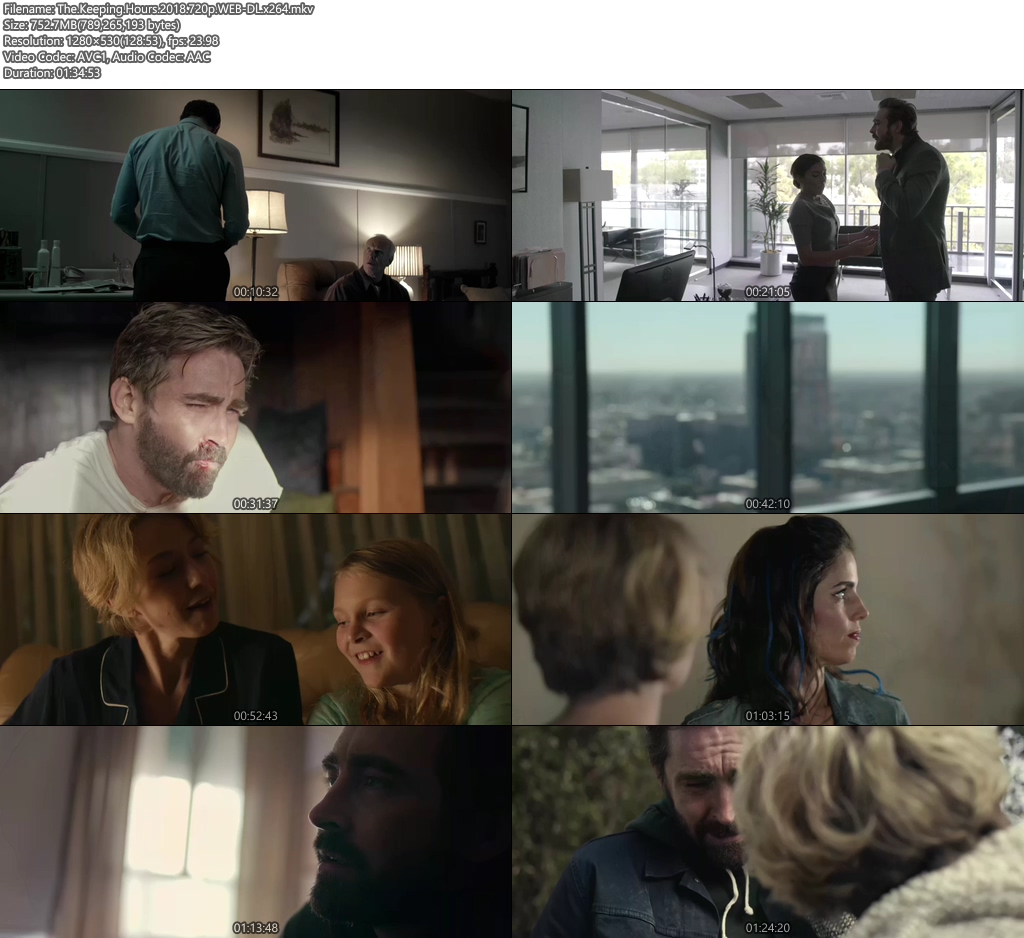 The Keeping Hours 2018 720p WEB-DL x264 | 480p 300MB | 100MB HEVC Screenshot