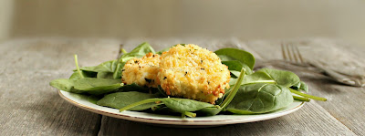 "Oven ""Fried"" Goat Cheese"