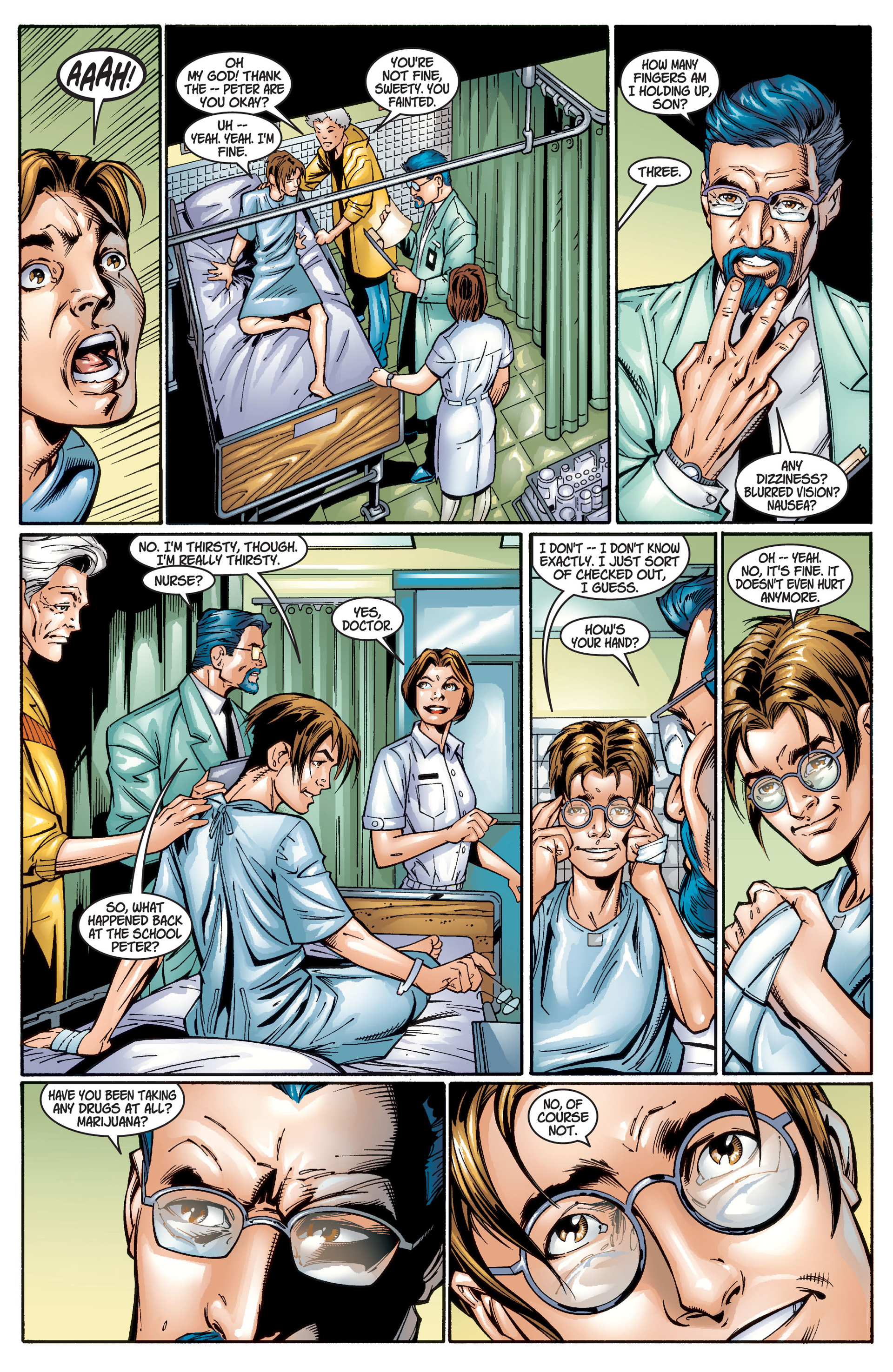Read online Ultimate Spider-Man (2000) comic -  Issue #1 - 32