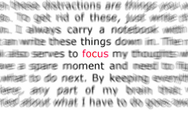[Tanggapan]  Focus To What You Love To Do!