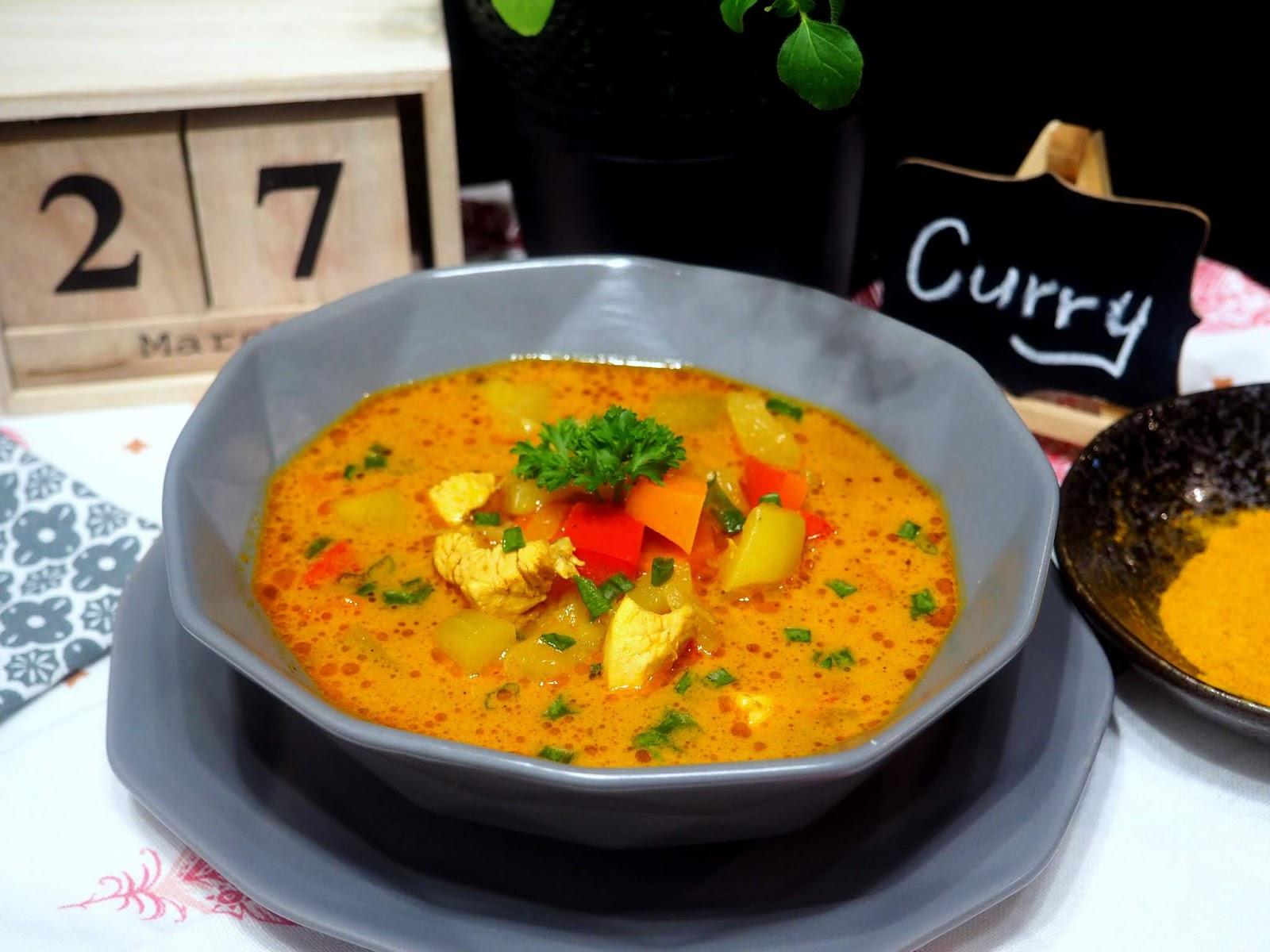 Zupa Curry Z Kurczakiem I Cukinia Kuchnia Magdaleny