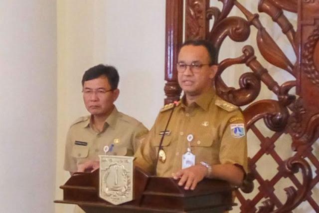 Anies Baswedan 'Takut' Nama Baik Republik jadi Jelek karena Trotoar di Sudirman