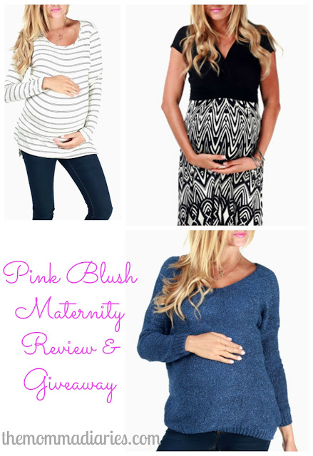 pink blush maternity review and giveaway