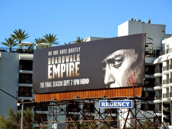 Boardwalk Empire final season 5 billboard Sunset Strip