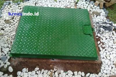 Jasa Pembuatan Tutup Bak Kontrol Stainless atau Tutup Bak Mesin Air Stainless di Jabodetabek