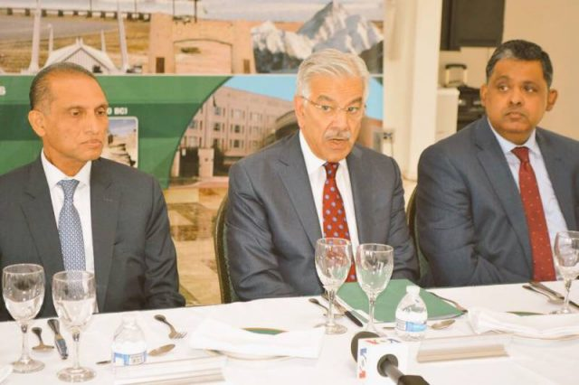 Khawaja Asif: Pakistan concerned about terrorists hideouts in Afghanistan
