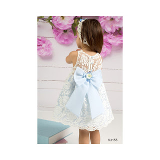 greek christening lace dress for girls