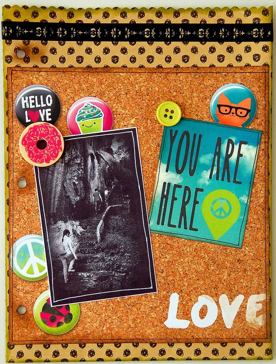 Great Adventures Misc Me Pages by Irene Tan Using BoBunny #ForeverYoung collection