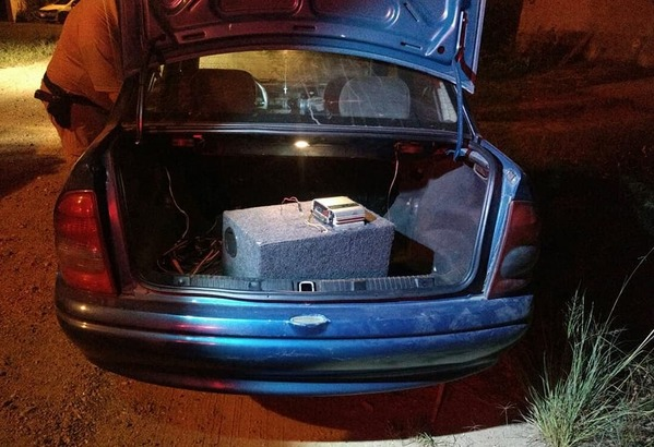 Ladrão arrombou carro e ficou sem gasolina em Canoinhas