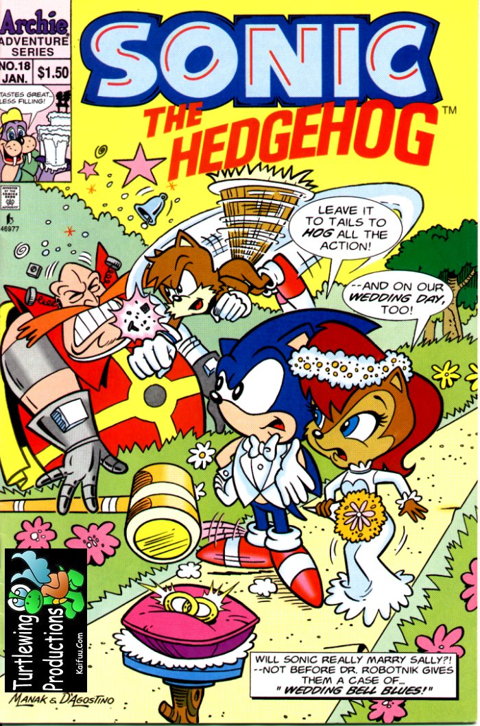 Read online Sonic The Hedgehog comic -  Issue #18 - 1