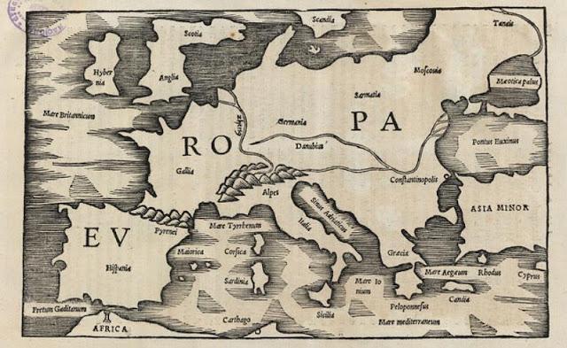 Pomponio Mela hace dos mil años al confeccionar este mapa sabía que existía un territorio llamado Hispania. ¿Y Cataluña, o Euskal Herria dónde estaban?