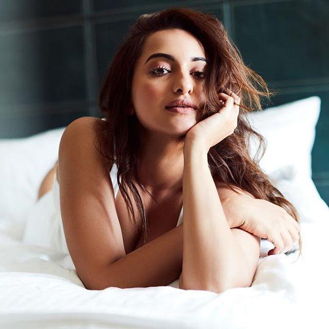 Wow!! Sonakhshi Sinha Looking HOT in White Bikini
