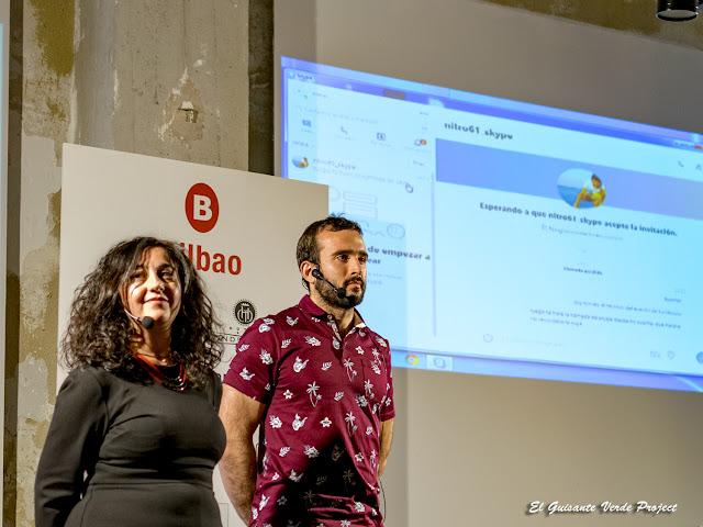 Cristina Alonso y Pello Múgica, Foodplay en Turistopia 2018 - Bilbao por El Guisante Verde Project