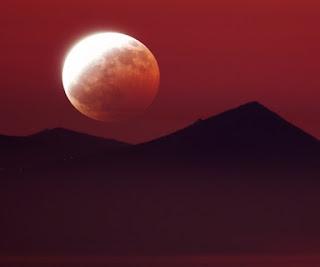 cara sholat gerhana bulan