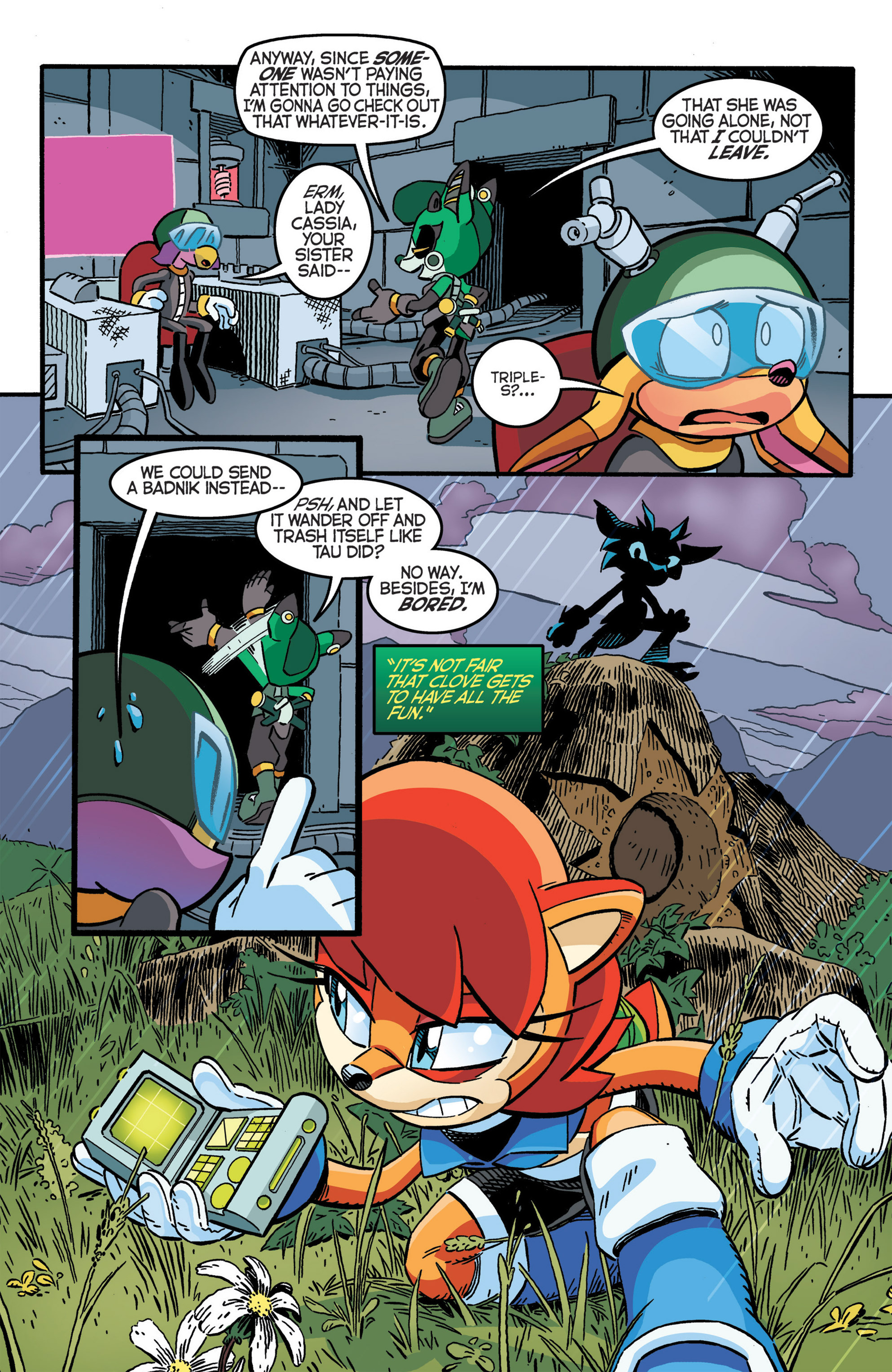 Read online Sonic The Hedgehog comic -  Issue #277 - 19