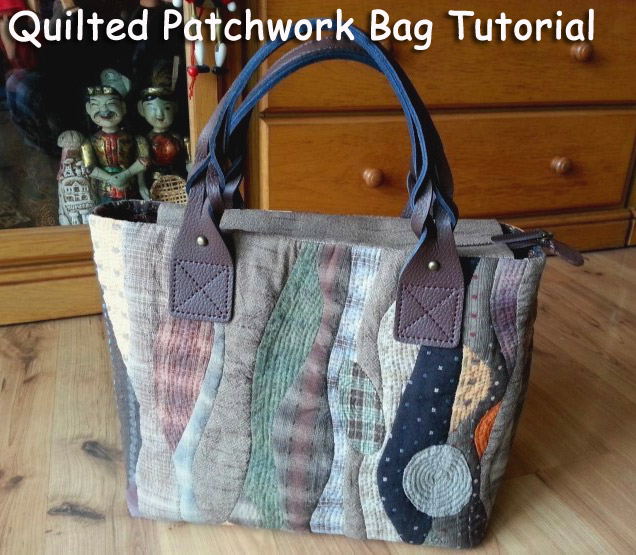 Patchwork Bag Pattern Quilt Diy Tutorial Ideas