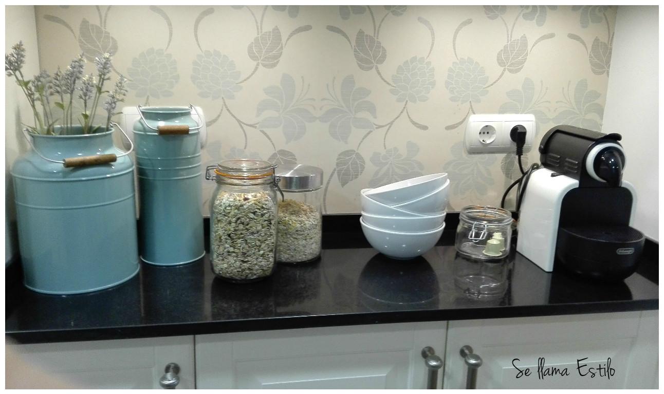 Se llama estilo mi cocina de ikea for Papel pintado cocina ikea