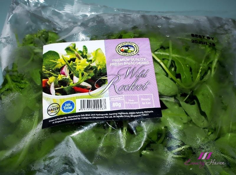 genting garden wild rocket salad recipe arugula