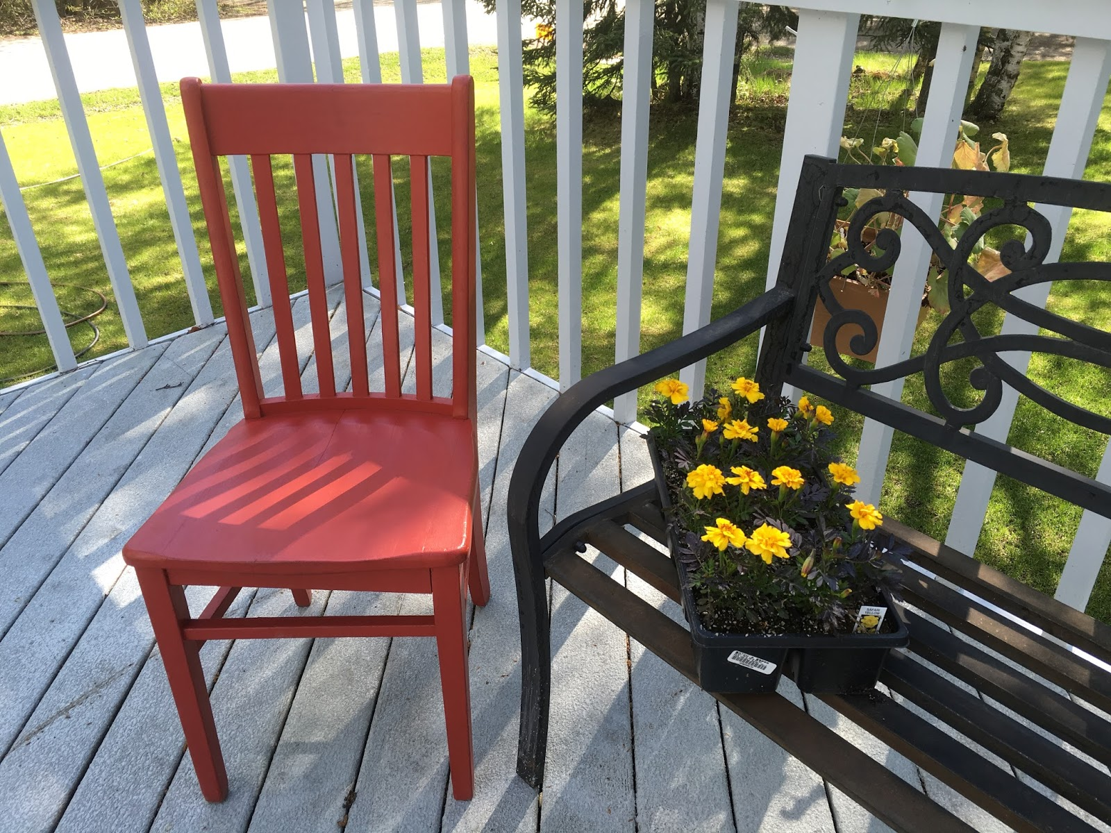 The Red Chair Visits Anchorage Alaska On Coast To Journey