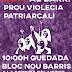 video manifestació Nou Barris contra totes les violencia masclista - 25 novembre