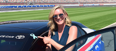 Sherry Pollex, DeAngelo Williams Named Honorary Pace Car Drivers For Bank of America ROVAL™ 400 Race Weekend