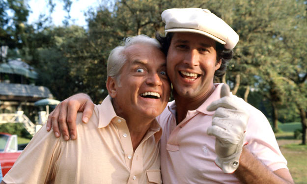 Roger Dean Chevy >> Love Movies?: Caddyshack (Random Image)
