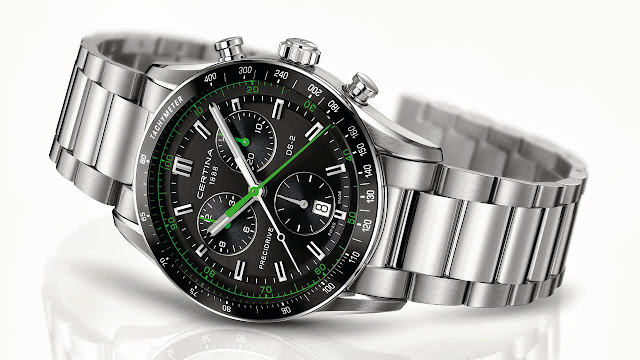 Certina DS-2 Chronograph Watch green