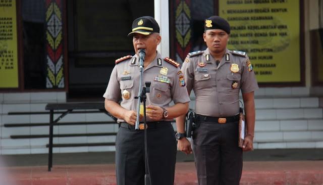 Jelang Peresmian Kantor Polda Papua Barat, Tatang Arahkan Personel